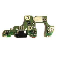 Разъем зарядки Huawei NOVA 2 (PiC-LX9) на плате микрофон, micro USB