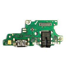 Разъем зарядки Huawei NOVA 3 (PAR-LX1) на плате микрофон, разъем гарнитуры