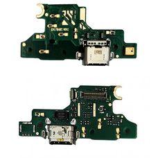 Разъем зарядки Huawei NOVA / Honor 4C  (CAN-L11 / CAZ-TL10) на плате микрофон, micro USB