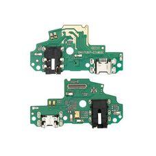 Разъем зарядки Huawei P-Smart (FIG-LX1) на плате микрофон, micro USB