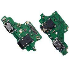 Разъем зарядки Huawei P20 LITE (ANE-LX1) на плате микрофон, разъем гарнитуры, micro USB
