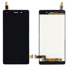 Дисплей Huawei Ascend P8 Lite Черный (экран+сенсор)