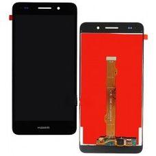 """Дисплей Huawei Y6 II (2) 5,5"""" Черный (модуль, в сборе) ОРИГИНАЛ"""
