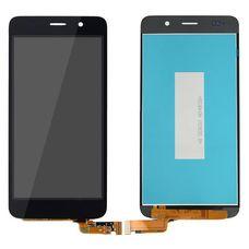Дисплей Huawei Y6 Черный (экран + тачскрин, стекло)