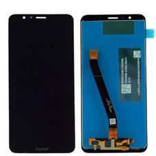 Дисплей Huawei Honor 7X (BND-AL10, BND-L21, BND-L24, BND-TL10) Черный (экран + тачскрин, стекло)
