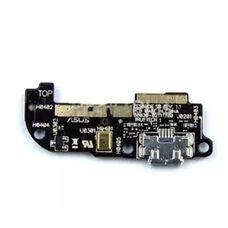 Разъем зарядки (плата шлейф) ASUS Zenfone 2 Laser ZE500CL + микрофон