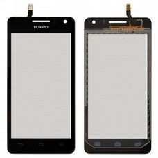 Тачскрин Huawei Ascend G600 Черный ОРИГИНАЛ (Touchscreen)