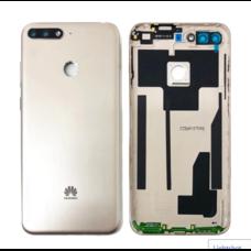 Задняя крышка (корпус) Huawei Y6 2018 Золотая