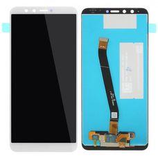 Дисплей Huawei Y9 2018 (FLA-LX1) Белый (модуль, в сборе)