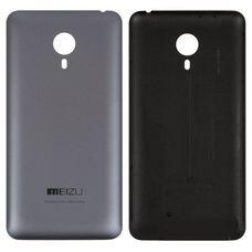 Задняя крышка Meizu MX4 Pro черная / серая