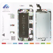 Магнитный коврик iPhone 6G PLUS (схема разбора)