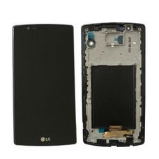 Дисплей LG G4 H815 В РАМКЕ Черный (экран + тачскрин, стекло)