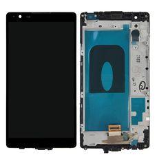 Дисплей LG X Power K220DS Черный В РАМКЕ (экран + тачскрин, стекло)