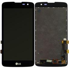 Дисплей LG K7 X210DS (экран + тачскрин, стекло)