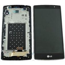Дисплей LG G4S H736 Черный В РАМКЕ (экран + сенсор)