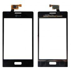 Тачскрин LG Optimus L5 E610 E612 черный (Touchscreen)