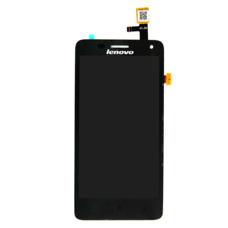 Дисплей для Lenovo S660 ЧЕРНЫЙ (модуль в сборе) оригинал
