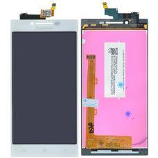 Дисплей Lenovo P70 P70t белый (экран+тачскрин)