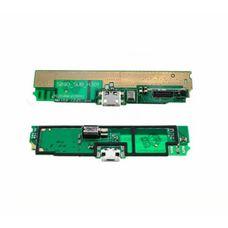 Разъем зарядки (шлейф) Lenovo S890 микрофон + вибро