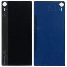 Задняя крышка Lenovo Vibe Shot Z90 черная (стеклянная)