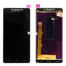 Дисплей Lenovo A6000 черный (в сборе, модуль)