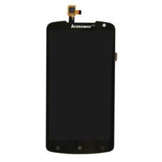 Дисплей Lenovo S920 Черный (модуль, в сборе) ОРИГИНАЛ