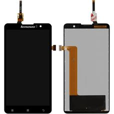 Дисплей Lenovo S898T Черный (экран + тачскрин, стекло)