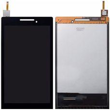 Дисплей Lenovo Tab 2 A7-A10F / A7-20F Черный (экран + тачскрин, стекло)