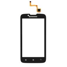 Тачскрин Lenovo A328 черный (Touchscreen) сенсорное стекло