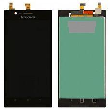 Дисплей Lenovo K900 IdeaPhone черный (в сборе, модуль) ОРИГИНАЛ