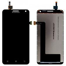 Дисплей Lenovo S580 ЧЕРНЫЙ (экран + тачскрин, стекло)