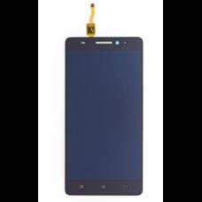 Дисплей Lenovo A7000 IdeaPhone черный (экран + тачскрин, стекло)