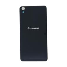Задняя крышка Lenovo S850 черная (стеклянная)