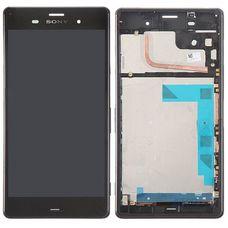 Дисплей Sony Xperia Z3+/Z4 В РАМКЕ ЧЕРНЫЙ E6533 E6533 (экран + тачскрин)