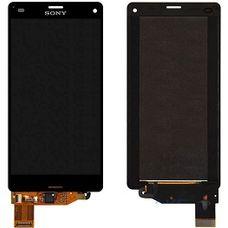 Дисплей Sony Xperia Z3 mini ОРИГИНАЛ ЧЕРНЫЙ D5803 экран+сенсор