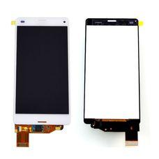 Дисплей для Sony Xperia Z3 mini БЕЛЫЙ D5803 (Compact) c тачскрином (модуль в сборе)