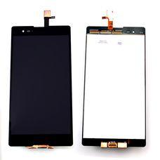 Дисплей Sony Xperia T2 ULTRA DUAL ЧЕРНЫЙ D5303 D5306 D5322 (модуль, в сборе) ОРИГИНАЛ