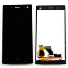 Дисплей Sony Xperia Acro S ЧЕРНЫЙ LT26 (модуль, в сборе) ОРИГИНАЛ