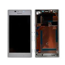 Дисплей Sony Xperia M2 Dual sim БЕЛЫЙ D2302 (модуль в сборе) ОРИГИНАЛ
