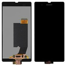 Дисплей Sony Xperia Z ЧЕРНЫЙ C6603 C6602 C6606 L36h (модуль в сборе)