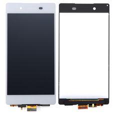 Дисплей Sony Xperia Z3 Plus Z4 E6533 E6553 БЕЛЫЙ ОРИГИНАЛ c тачскрином (модуль в сборе)
