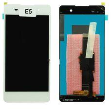 Дисплей Sony Xperia E5 F3311 БЕЛЫЙ (экран + тачскрин, стекло)