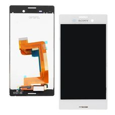 Дисплей Sony Xperia M4, M4 Aqua Dual E2303 E2333 E2306 E2312 БЕЛЫЙ (экран+тачскрин)