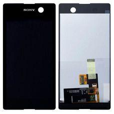 Дисплей Sony Xperia M5, M5 Dual E5603 E5633 ЧЕРНЫЙ (экран + тачскрин, стекло)
