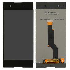 Дисплей Sony Xperia XA1 ULTRA, C7, Ultra Dual G3212 G3226 G3212 G3221 G3223 ЧЕРНЫЙ (экран + сенсор)