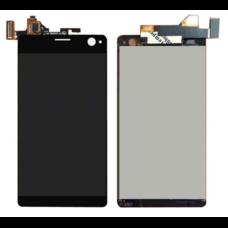 Дисплей Sony Xperia C4 / C4 Dual E5303 E5333 ЧЕРНЫЙ (экран+сенсор)