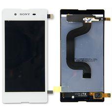 Дисплей Sony Xperia E3, E3 Dual D2202 D2203 D2206 D2212 БЕЛЫЙ (экран + тачскрин, стекло)