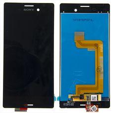 Дисплей Sony Xperia M4, M4 Aqua Dual E2303 E2333 E2306 E2312 ЧЕРНЫЙ (экран+тачскрин)