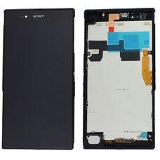 Дисплей Sony Xperia Z ULTRA C6802 Черный В РАМКЕ (экран + тачскрин, стекло)
