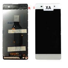 Дисплей Sony Xperia XA, XA Dual F3111 F3112 БЕЛЫЙ c тачскрином (модуль в сборе)